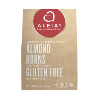 Aleia's Gluten-free Almond Horn Cookies (2 Pack)