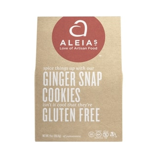 Aleia's Gluten-free Ginger Snap Cookies (2 Pack)
