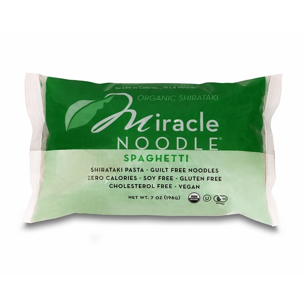 Miracle Noodle Gluten-free Organic Spaghetti (2 Pack)