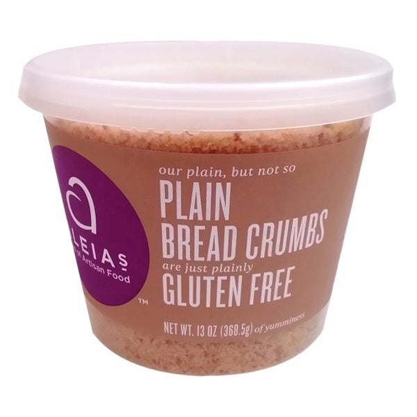 Aleia's Gluten-free Plain Bread Crumbs (2 Pack)