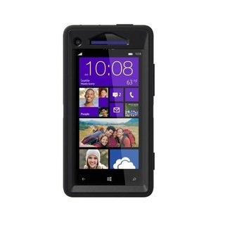 OtterBox Defender Series Black Case for HTC Windows Phone 8X