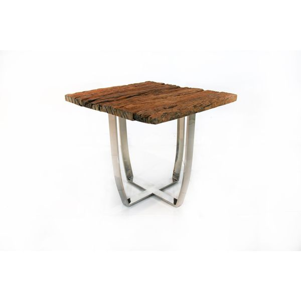 Graham Railroad Side Table