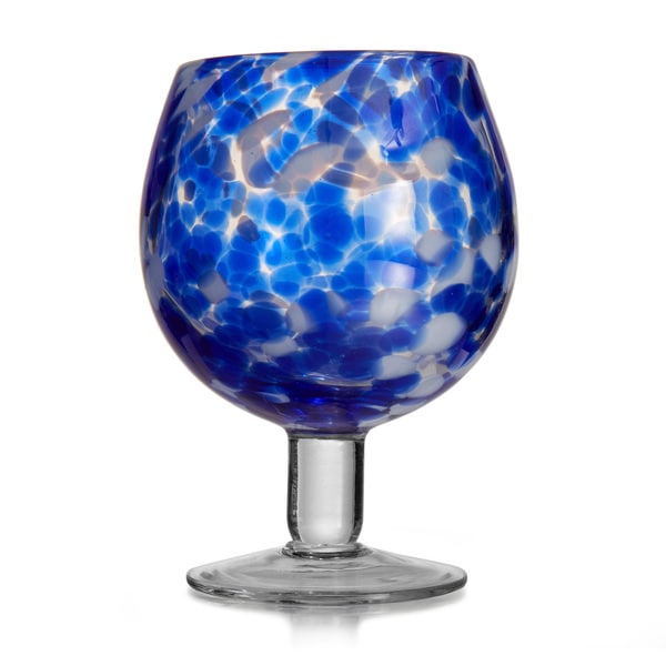 Splash Blue Goblets (Set of 4)