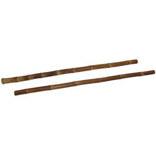 Escrima Iron Bamboo Fighting Sticks (Set of 2)