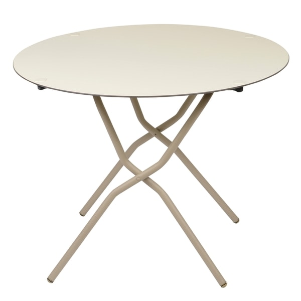 Anytime Round Folding Table