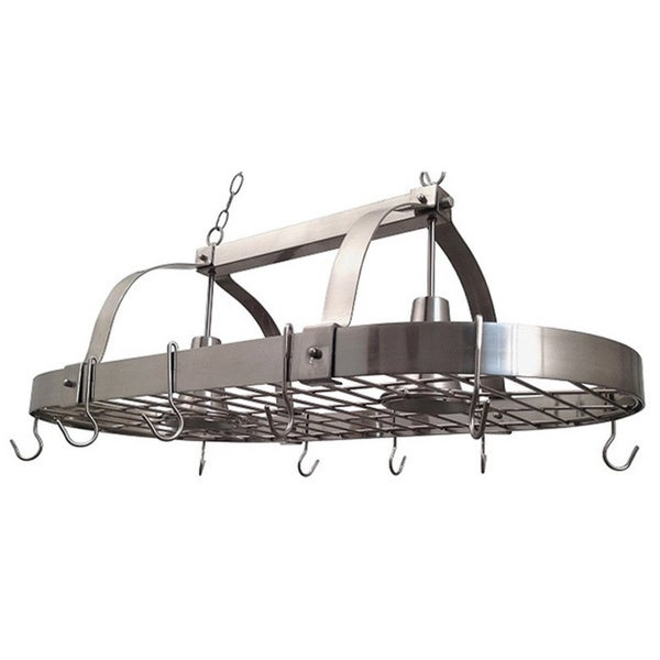 Elegant Designs Home Collection 2-light Kitchen Pot Rack 21062236
