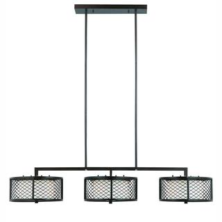 Dublin Collection by Lumenno International Contemporary 6-light Bronze Island Light