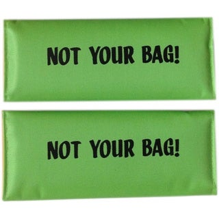 Not Your Bag' Lime Original Patented Luggage Spotter