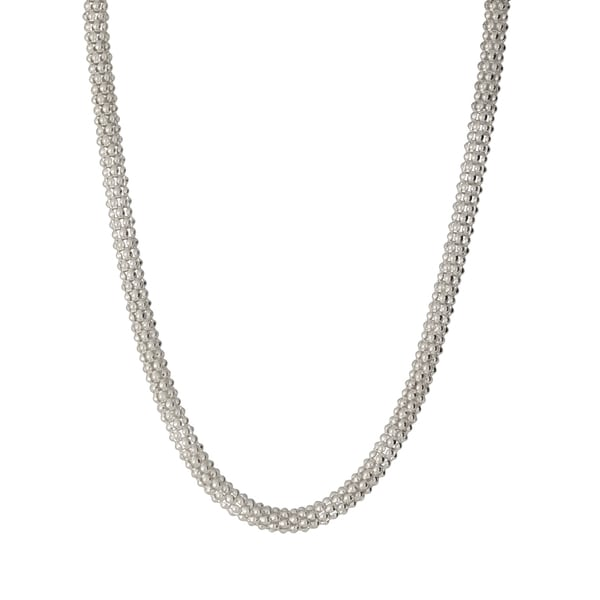Sterling Silver 6mm Popcorn Chain