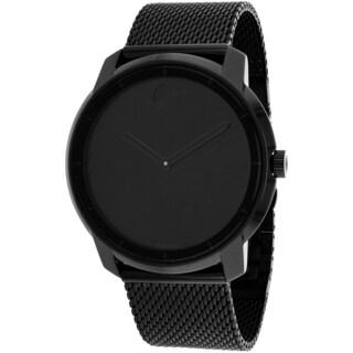 Movado Women's 3600261 Bold Round Black Ion-Plated Bracelet Watch