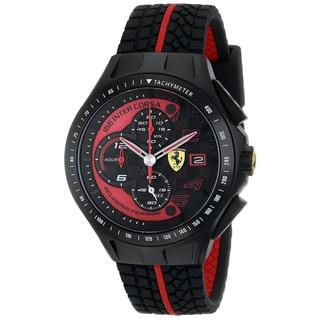 Ferrari Men's 0830077 Race Day Analog Display Quartz Watch