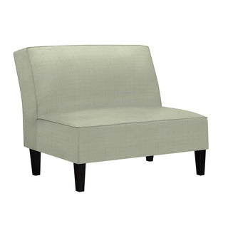 Better Living Wylie Gray Armless Settee