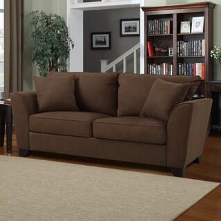 Portfolio Gaft Dark Espresso Microfiber Sofa