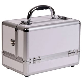 Sunrise 3-tier Expandable Tray White Makeup Case