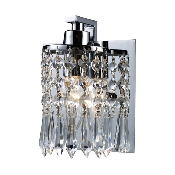 ELK Lighting Optix 1-Light Vanity in Polished Chrome 14957358