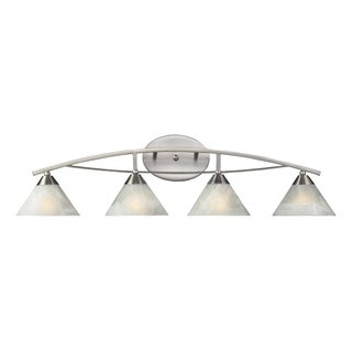 Satin Nickel Elysburg Collection 4-Light Vanity