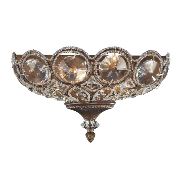 Mocha Christina Collection 2-Light Sconce