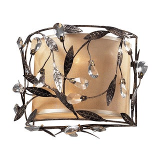 Deep Rust Circeo Collection 2-Light Wall Sconce