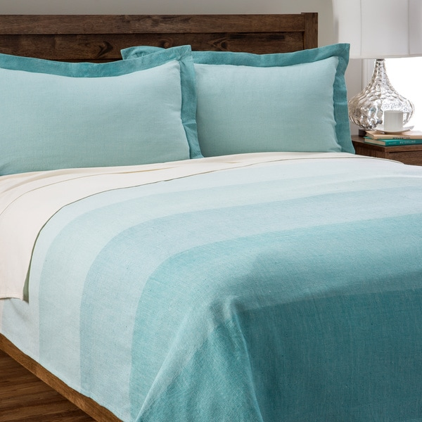 Jovi Home Capri Aqua Coverlet Set