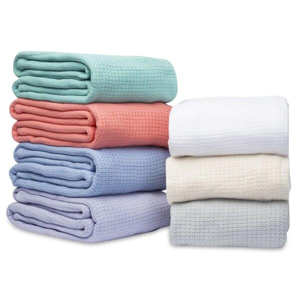 Eileen West 100-percent Cotton Cross Stitch Blanket