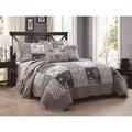 Francine Embroidered 5-piece Quilt Set