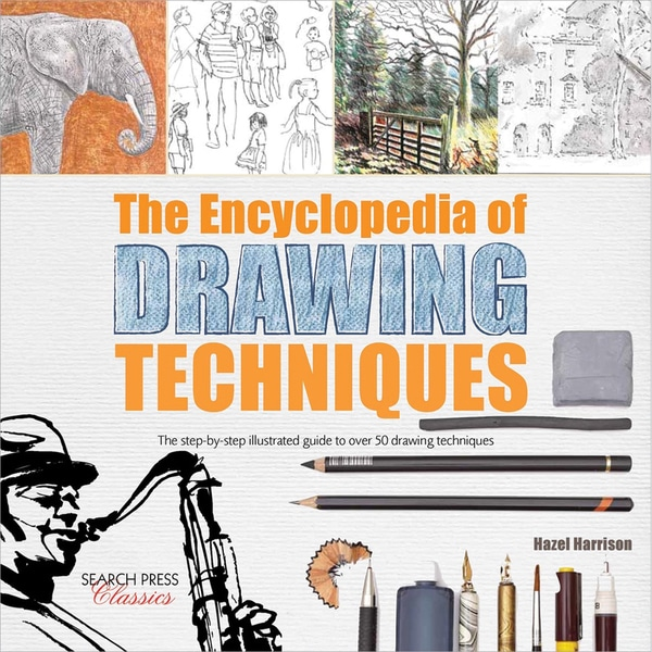 Search Press Books-The Encyclopedia Of Drawing Techniques