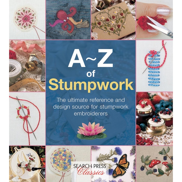 Search Press Books-A-Z Of Stumpwork