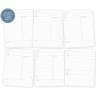 "Sn@p! Life Documented Double-Sided Inserts 6""X8"" 156/Pkg-Plan Your Day - Includes 365 Days"