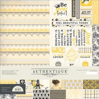 """Authentique Collection Kit 12""""X12""""-Beauty"""
