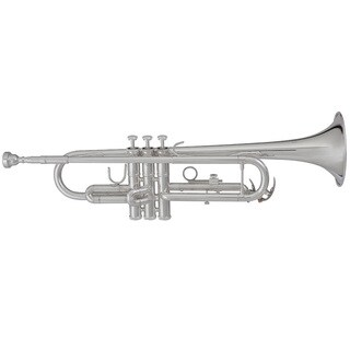 Blessing BTR-1460S Intermediate Bb Silverplated Trumpet
