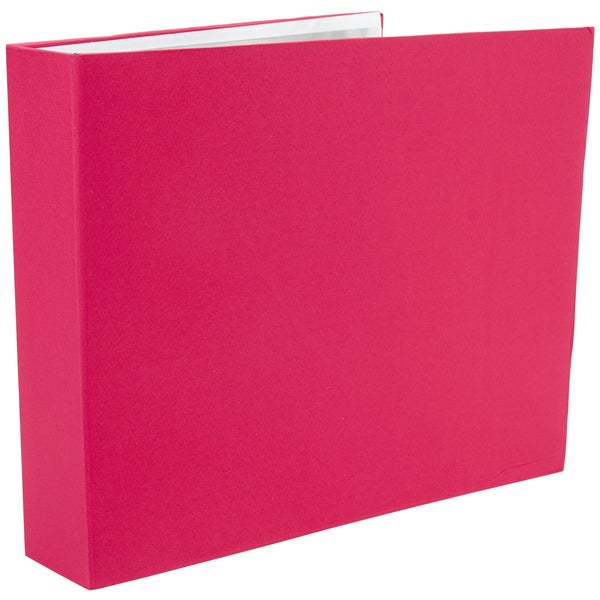 "Colorbok 3 Ring Fabric Album 12""X12""-Pink"