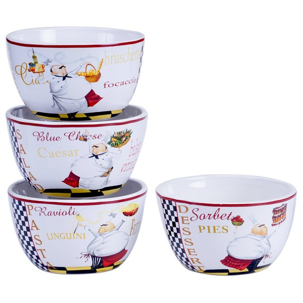 Chef Special Ice Cream Bowl (Set of 4)
