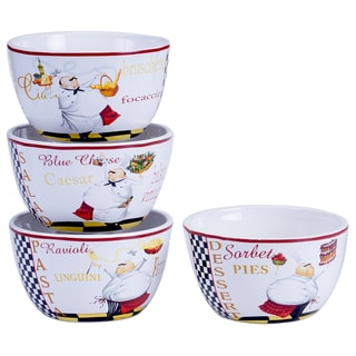 Chef Special Ice Cream Bowl (Set of 4)