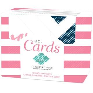 "Heidi Swapp A2 Cards & Envelopes (4.25""X5.5"") 40/Pkg-Heidi Swapp"