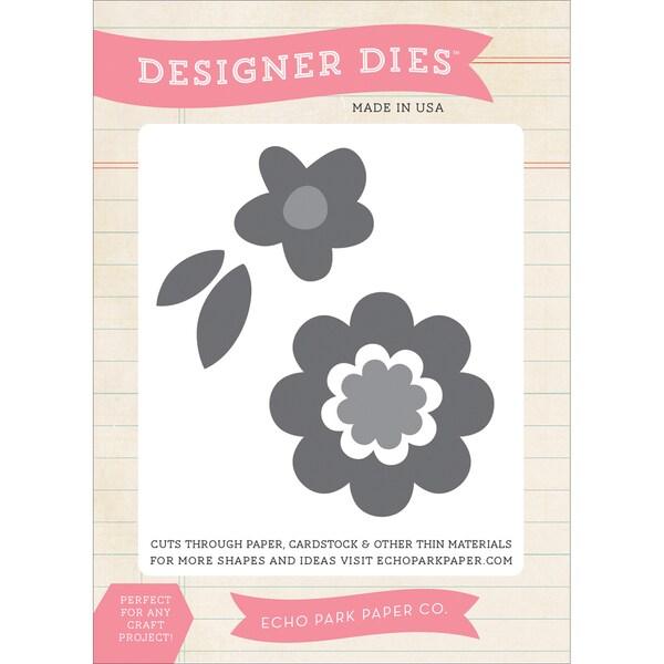 Echo Park Dies-Flower #3