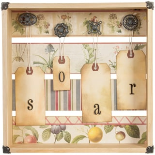 "Rustic Shadow Box 11.5""X11.5""X2.88""-"