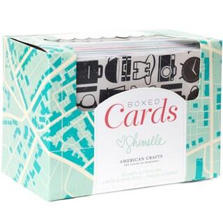 """American Crafts A2 Cards & Envelopes (4.25""""X5.5"""") 40/Pkg-Shimelle"""