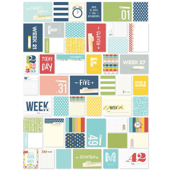 Sn@p! Life Documented Cards 148/Pkg-Week In Review