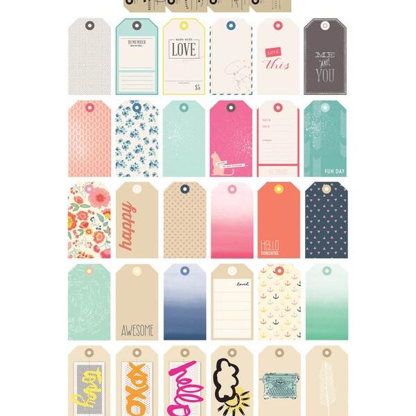 DIY Shop Mason Jars W/Embellishments-Gift Tags 31/Pkg