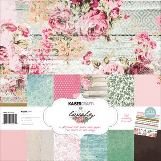 """Kaisercraft Paper Pack 12""""X12"""" -Oh So Lovely"""