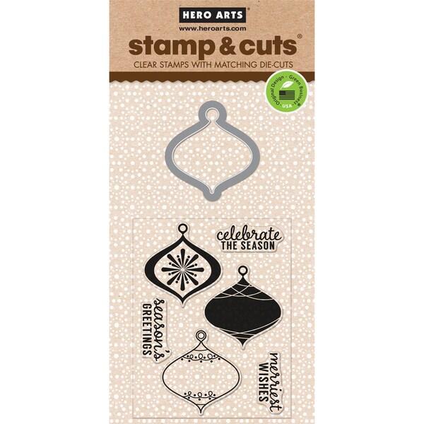 Hero Arts Stamp & Cuts-Ornament