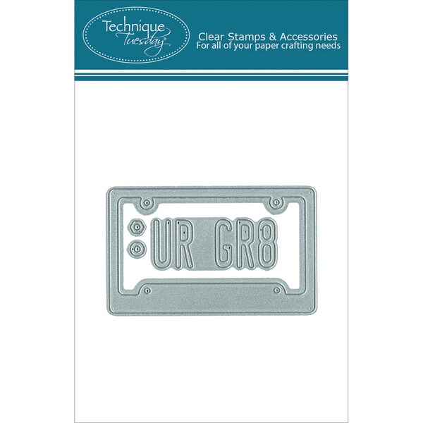 DIY Dies-License Plate