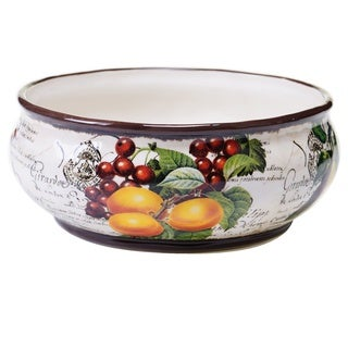 Botanical Fruit Deep Bowl