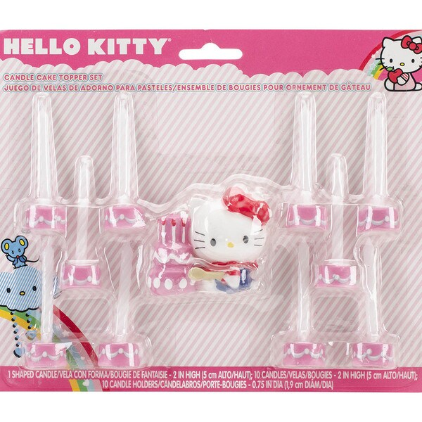 Candle Set 11pc-Hello Kitty