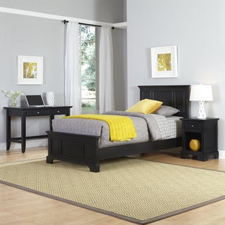 Bedford Twin Bed, Night Stand, and Student Desk
