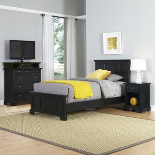 Bedford Twin Bed, Night Stand, and Media Chest