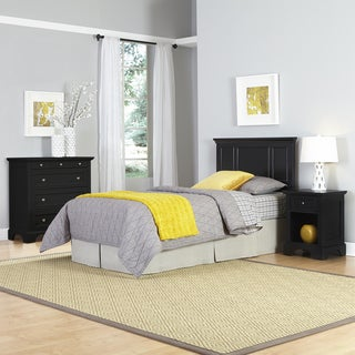Bedford Twin Headboard, Night Stand, and Chest
