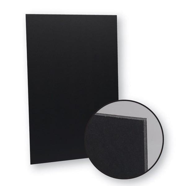 Flipside Total Black Foam Board (Pack of 25)