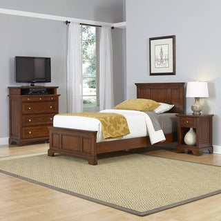 Chesapeake Twin Bed, Night Stand, and Media Chest
