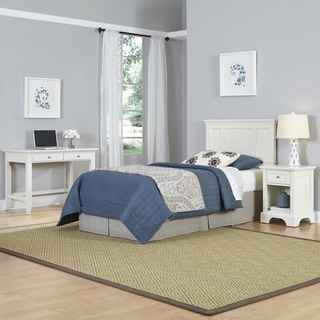Naples Twin Headboard, Night Stand, and Student Desk
